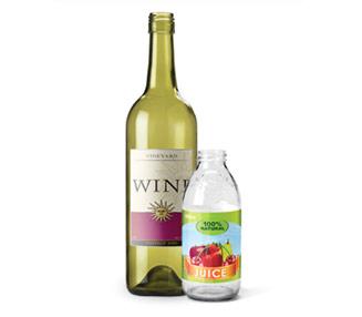 glass wine bottle recycling